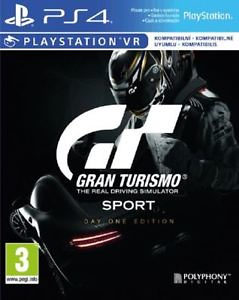 Gran Turismo Sport Day One Edition (PlayStation 4 PS4)