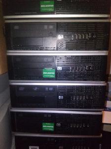 HP 6005 pro sff AMD dual core cpu ,4 gb DDR3 ram