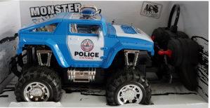 AKCIJA! Monster đip na daljinski, Policija igračke