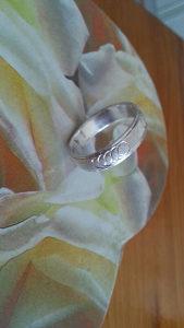 Muski srebreni prsten