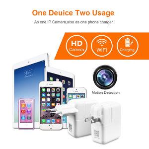 Spijunska kamera WIFI / USB punjac / Mini kamerica HD