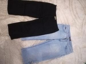 2x ženske kapri hlače vel.XL