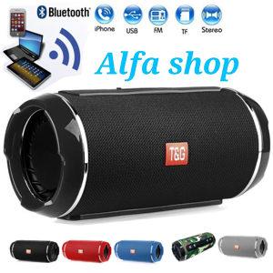 Bluetooth zvucnik T&G 117 crni vodootporan