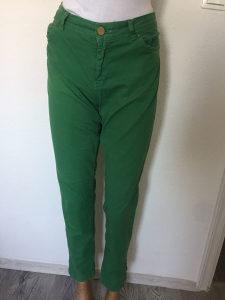 Farmerke zenske L, XL ZARA, zelene, super model