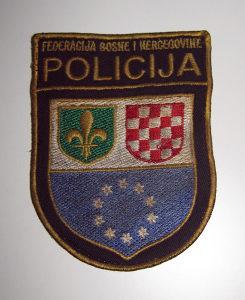 Amblem POLICIJA Federacija BIH