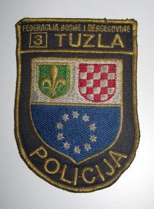 Amblem POLICIJA TUZLA - Federacija BIH
