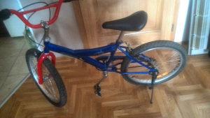 Prodajem biciklo 20 za uzrast od 6 do 10 god
