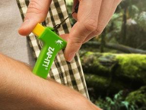 Naprava za ublažavanje bola od ujeda komaraca