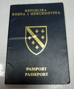 Stari pasoš Republika Bosna i Hercegovina BIH