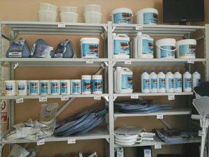 Hemijska sredstva za ciscenje i odrzavanje bazena