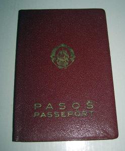 Stari pasoš - 1963 godina  - FNRJ - Jugoslavija