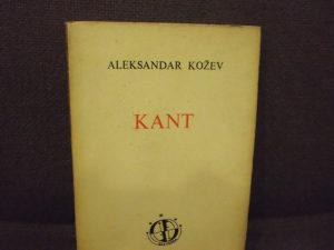 Filozofija Aleksandar Kožev - Kant