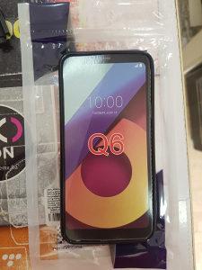 Crna gel maska LG Q6