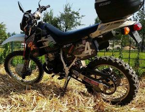 Honda CRM 125 motor cross