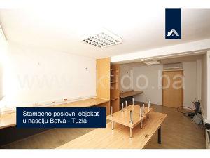 Stambeno poslovni objekat u naselju Batva, Tuzla