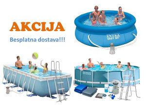Bazen bazeni INTEX - AKCIJA - Besplatna dostava