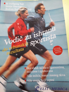 Knjiga Vodič za ishranu do vrhunskih rezultata sportist