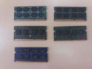 RAM memorija za laptop DDR3