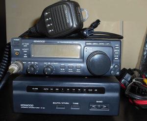 KT uređaj Kenwood TS 50 i AT50 antenski tuner