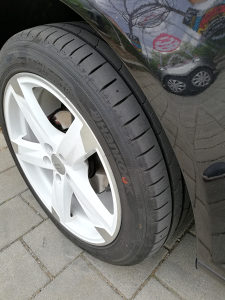 "Felge VW GOLF Alu 17"" sa novim gumama"