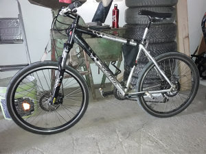 ALU MTB bicikl