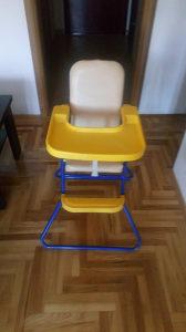 Stolica - hranilica za bebe
