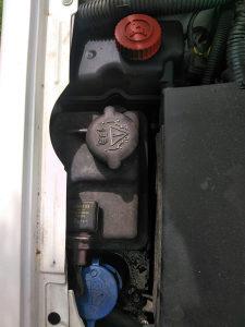 Peugeot pezo 406 posuda za vodu