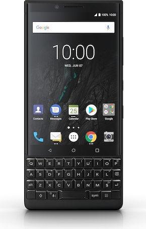 """BlackBerry KEY2 (4.50"""", 128GB, Dual SIM, 12MP, Black)"""