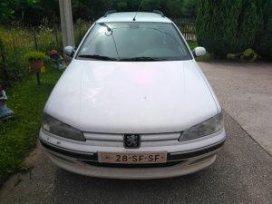 Peugeot pezo 406 hauba