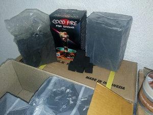 Ugalj , žar za nargilu COCO FIRE