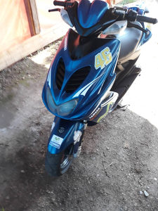 Yamaha aerox 50ccm