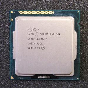 Intel i5-3570k 3.4 GHz
