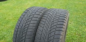 2 zimske gume Dunlop 195/55/15 M+S