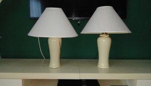 Stolne lampe Francuske u paru