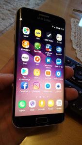 Samsung S6 edge....