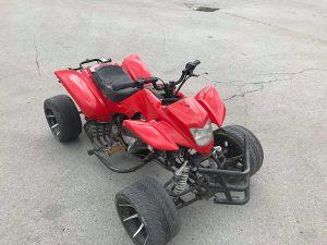 Qvad Atv Quad 250cc