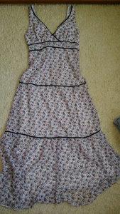 Duga cvjetna haljina vel S
