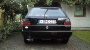 Volkswagen Golf turbo intelkuler