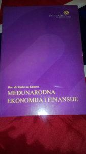 Medjunarodna ekonomija i finansije