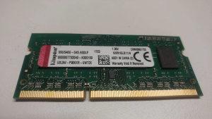 Kingston 4GB DDR3L 1600MHZ Laptop memorija 1.35V