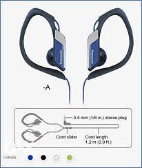 Slušalice Panasonic RP-HS34E-R
