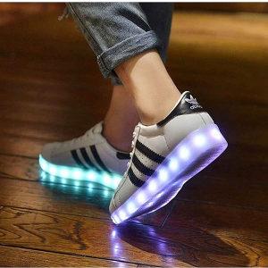 Superstar adidas LED patike
