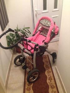 Kolica za bebu obostrana
