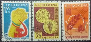 RUMUNIA 1962 - Poštanske marke - 01372