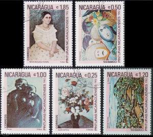 NICARAGUA 1982 - Poštanske marke - 01374