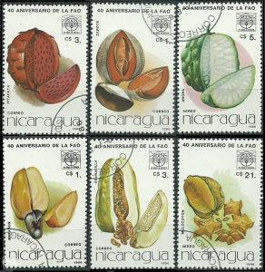 NICARAGUA 1986 - Poštanske marke - 01375
