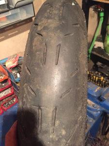Michelin 120 70 17 guma za motor