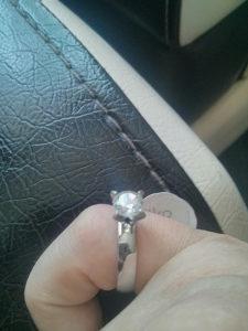 Prsten Srebrni sa cirkonom