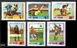 VIETNAM 1986 - Poštanske marke - 01379