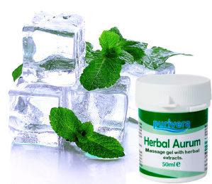 Herbal Aurum gel protiv bolova u zglobovima i mišićima